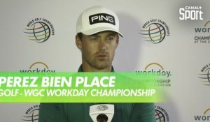 Golf - Réaction de Victor Perez - WGC Workday Championship - 1er Tour