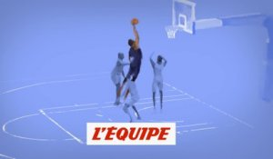 Le dunk d'anthologie d'Antetokounmpo redessiné - Basket - NBA