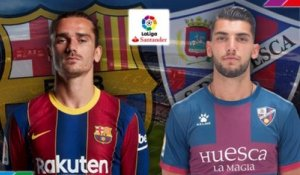 FC Barcelone - Huesca : les compositions officielles