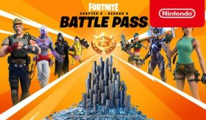 Fortnite Chapter 2 - Season 6 Battle Pass Trailer - Nintendo Switch
