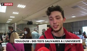 Coronavirus - Les étudiants peuvent réaliser des tests salivaires à l'université de Toulouse - VIDEO