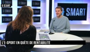 BE SMART - L'interview de Nicolas Maurer (Team Vitality) par Aurélie Planeix