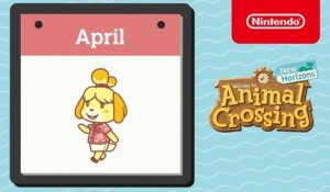 Animal Crossing: New Horizons - Exploring April - Nintendo Switch