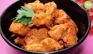 Poulet tandoori simple