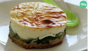 Cheesecake aux courgettes