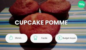 Cupcake pomme