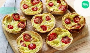 Mini-quiches tortillas