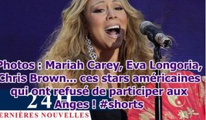 Photos : Mariah Carey, Eva Longoria, Chris Brown... ces stars américaines qui ont refusé de par...