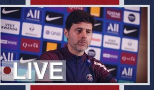 Replay : Conférence de presse de Mauricio Pochettino avant Paris Saint-Germain - RC Lens