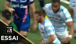 TOP 14 - Essai de Teddy IRIBAREN (R92) - Racing 92 - Paris - J21 - Saison 2020/2021