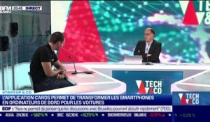 Start up & co : L'application CarOS permet de transformer les smartphones en ordinateurs de bord pour les voitures - 06/05