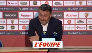 Haise : «On va digérer» - Foot - L1 - Lens