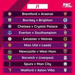 Calendrier Premier League 2022 Premier League 2021/2022 : Le calendrier du début de saison vidéo