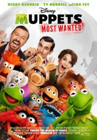 Affiche de Muppets most wanted