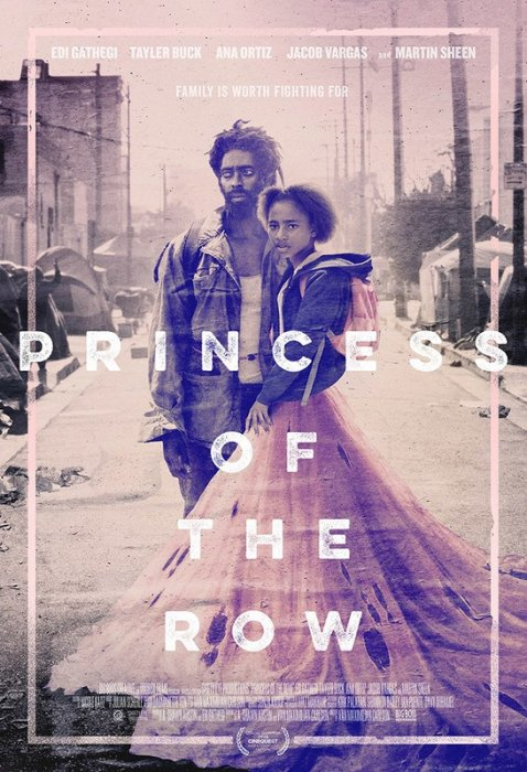 Princess of the Row : Affiche