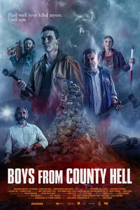 Boys From County Hell : Affiche