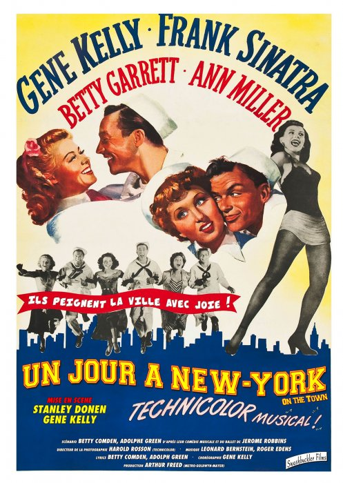 Un Jour à New York : Affiche