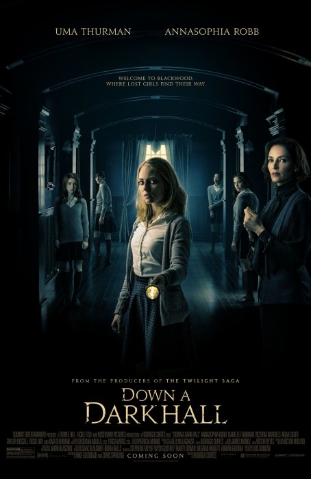 Down a Dark Hall : Affiche