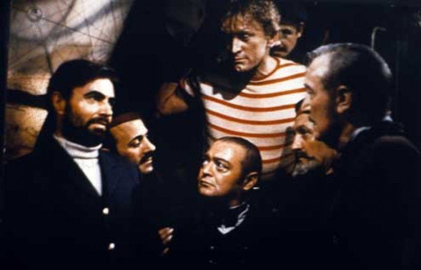 20.000 lieues sous les mers : photo James Mason, Kirk Douglas, Peter Lorre, Richard Fleischer