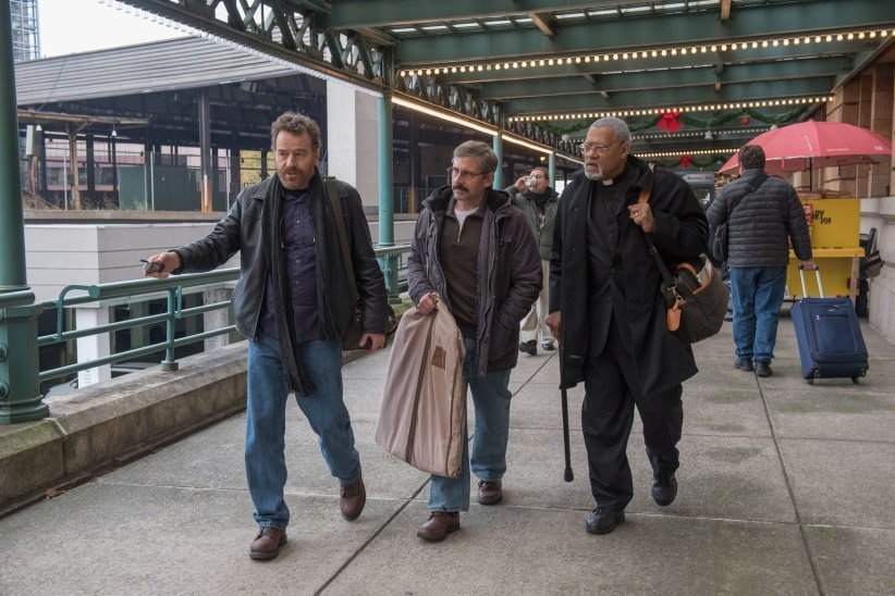 Last Flag Flying : Photo Bryan Cranston, Laurence Fishburne, Steve Carell