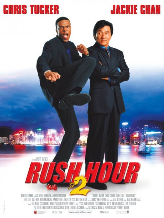 Rush Hour 2 : Affiche Chris Tucker, Jackie Chan