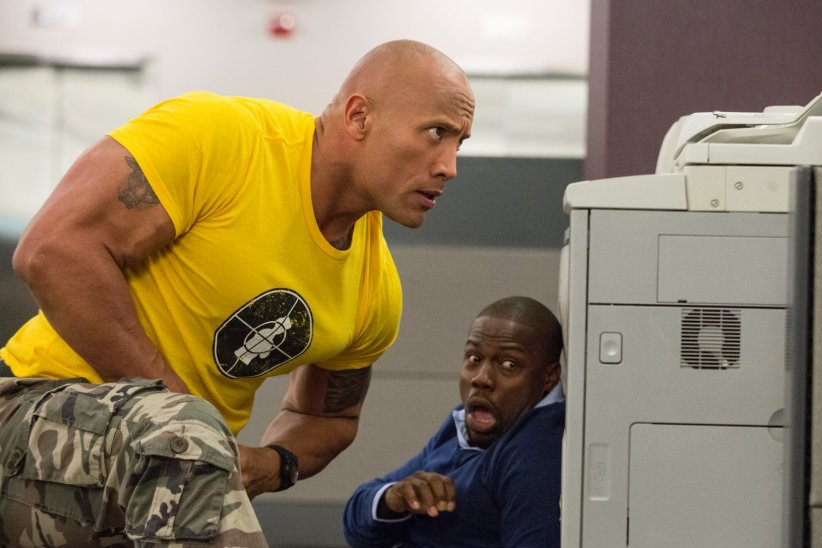 Agents presque secrets : Photo Dwayne Johnson, Kevin Hart