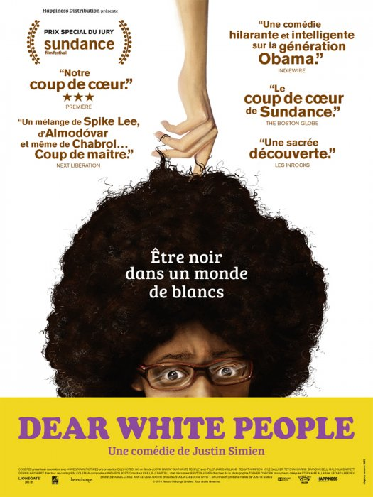 Dear White People : Affiche