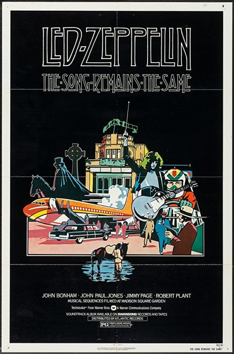 Led Zeppelin: The Song Remains The Same : Affiche