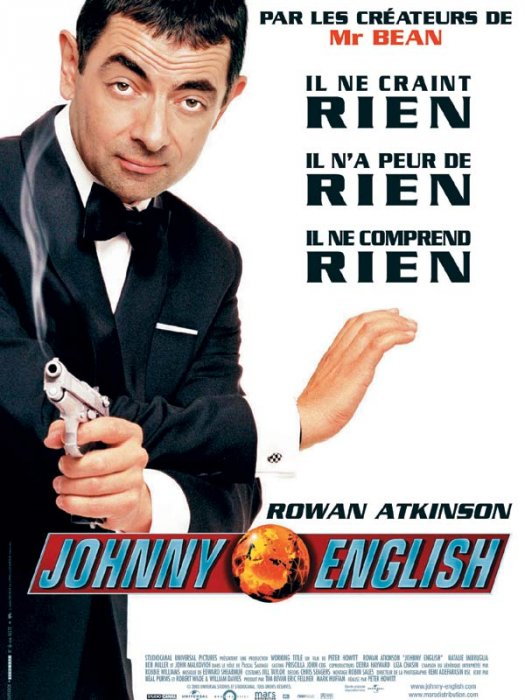 Johnny English : Affiche
