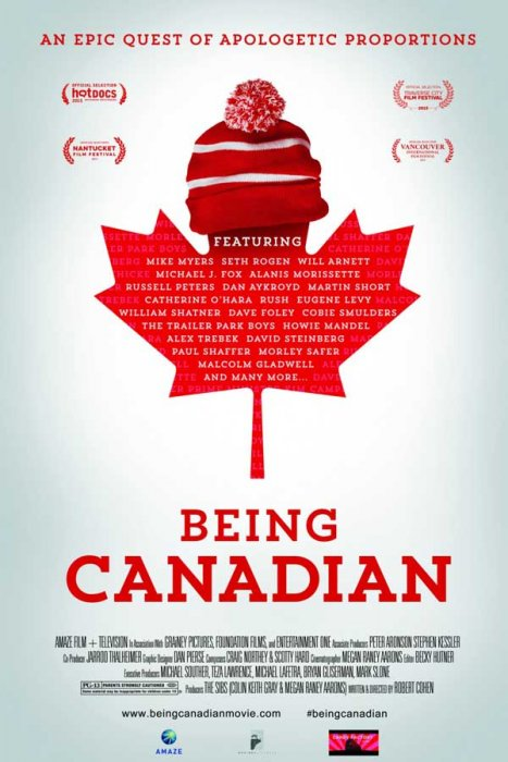 Being Canadian : Affiche