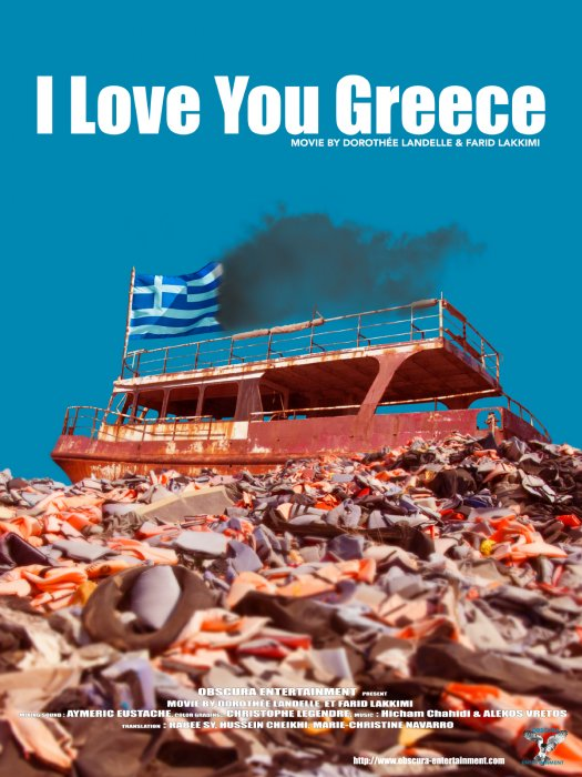 I Love You Greece : Affiche