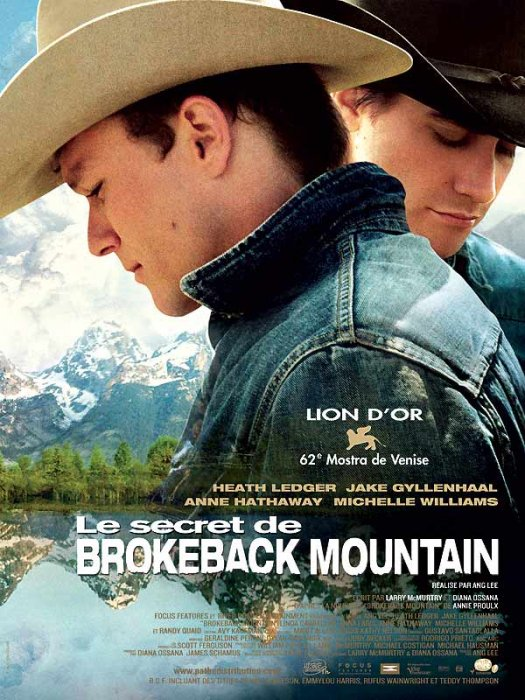 Le Secret de Brokeback Mountain : Affiche