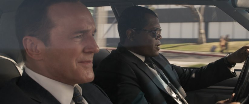 Captain Marvel : Photo Clark Gregg, Samuel L. Jackson