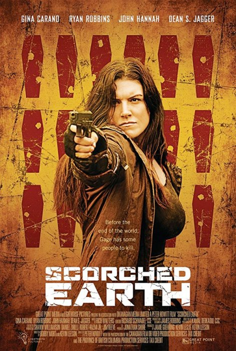 Scorched Earth : Affiche