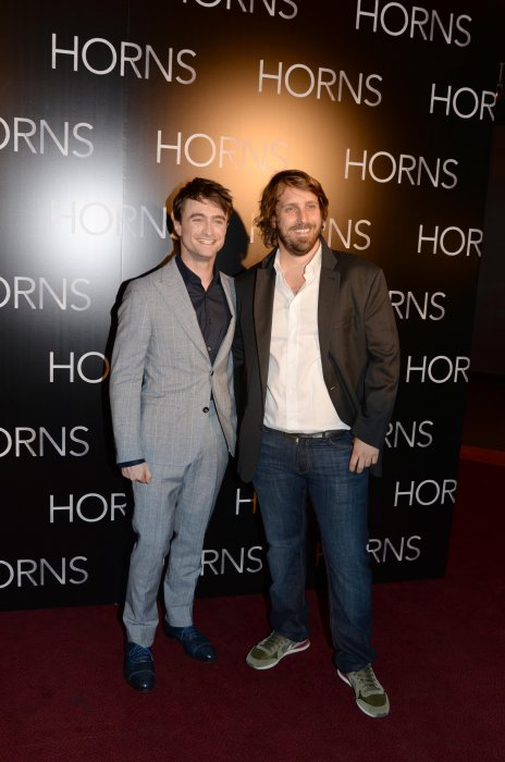Horns : Photo promotionnelle Alexandre Aja, Daniel Radcliffe