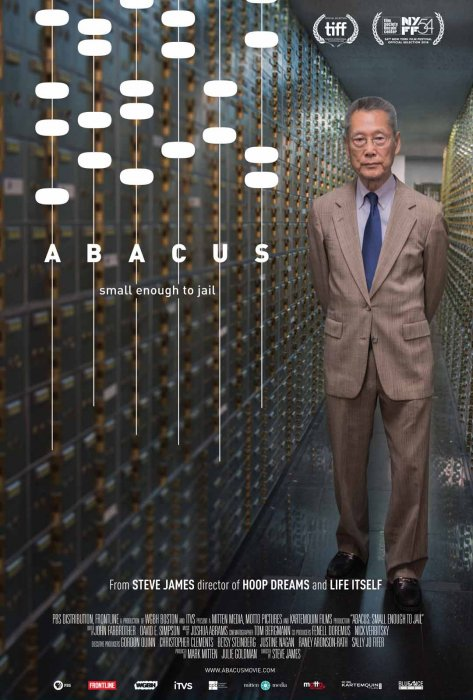 Abacus: Small Enough To Jail : Affiche