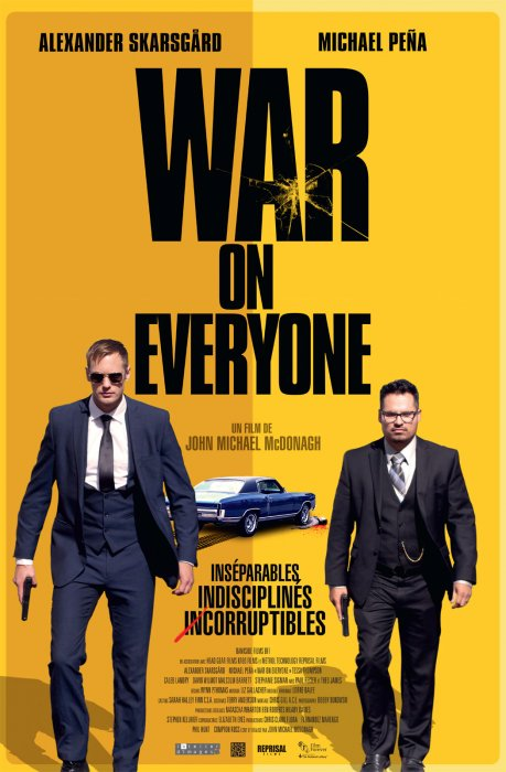War On Everyone : Affiche