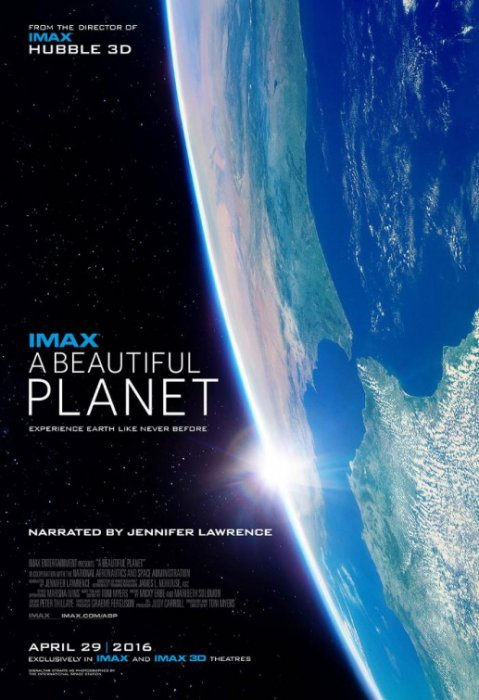 A Beautiful Planet : Affiche