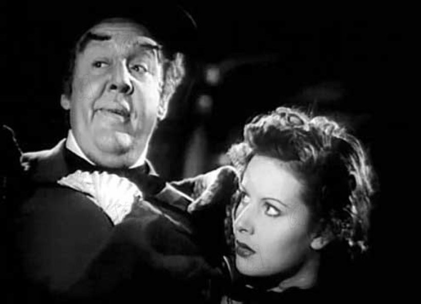 La Taverne de la Jamaïque : Photo Charles Laughton, Maureen O'Hara