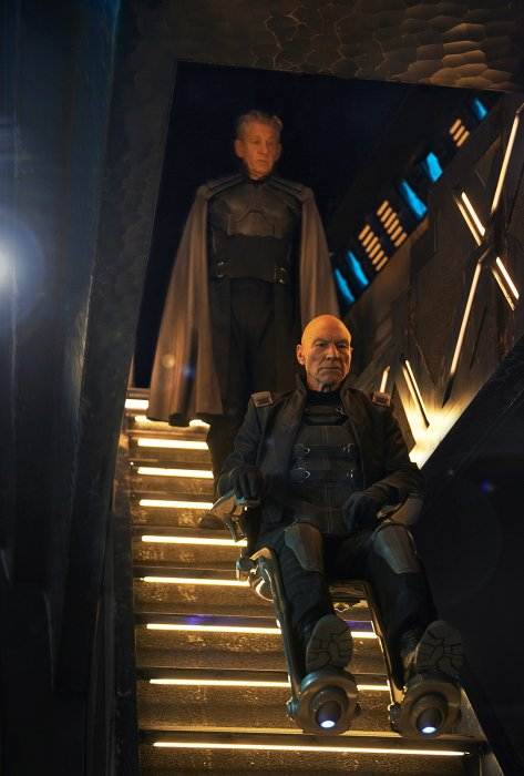 X-Men: Days of Future Past : Photo Ian McKellen, Patrick Stewart