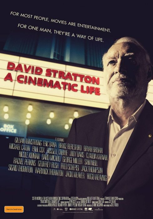 David Stratton - A Cinematic Life : Affiche