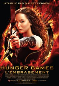 Affiche de Hunger Games - L'embrasement