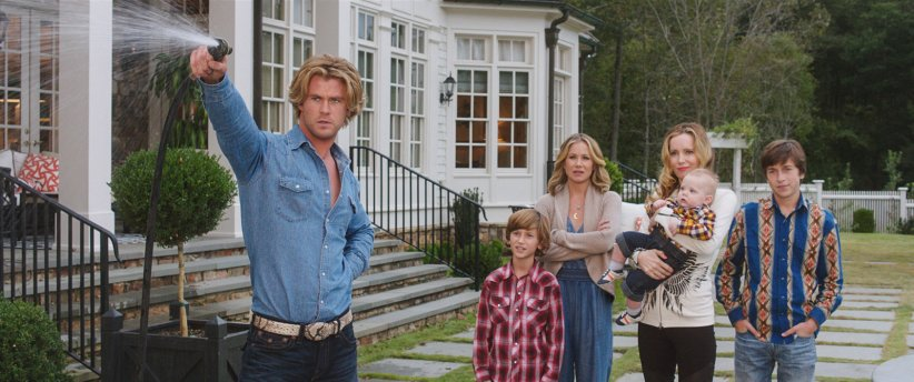 Vive les vacances : Photo Chris Hemsworth, Christina Applegate, Leslie Mann, Skyler Gisondo, Steele Stebbins