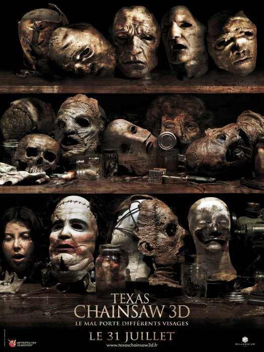 Texas Chainsaw 3D : Affiche