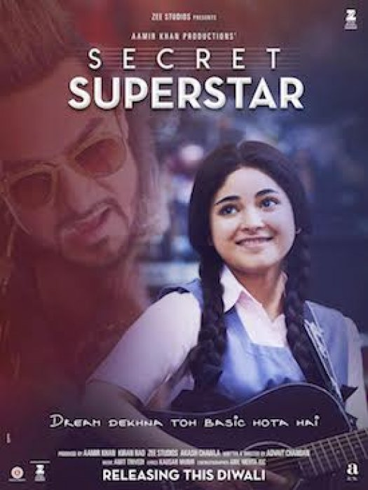 Secret Superstar : Affiche