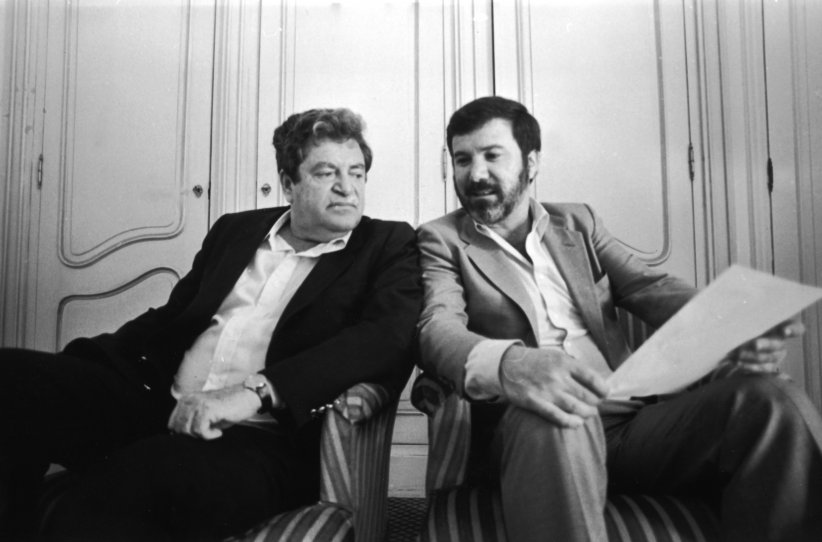 The Go-Go Boys : Photo Menahem Golan, Yoram Globus