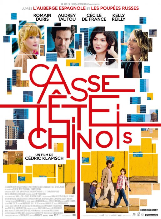 Casse-tête chinois : Affiche