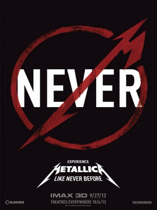 Metallica Through the Never : Affiche