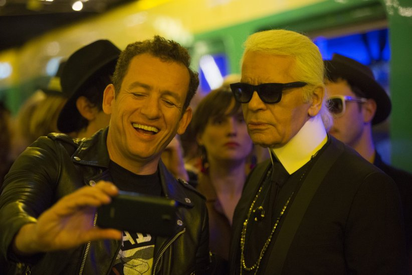 Lolo : Photo Dany Boon, Karl Lagerfeld
