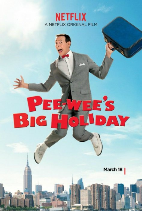 Pee-wee's Big Holiday : Affiche